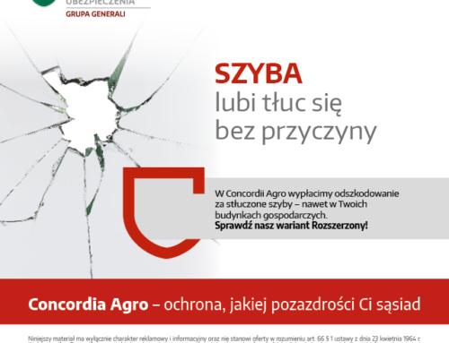 Concordia Agro – ochrona jakiej pozazdrości Ci sąsiad